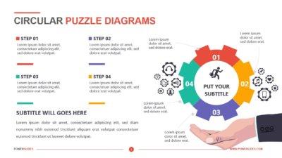 Circular Puzzle Diagrams