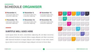 Schedule Organiser