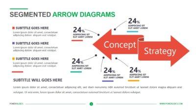 Segmented Arrow Diagrams