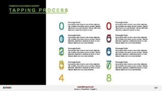 3D Process Steps Templates