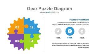 Colorful Gear Diagrams