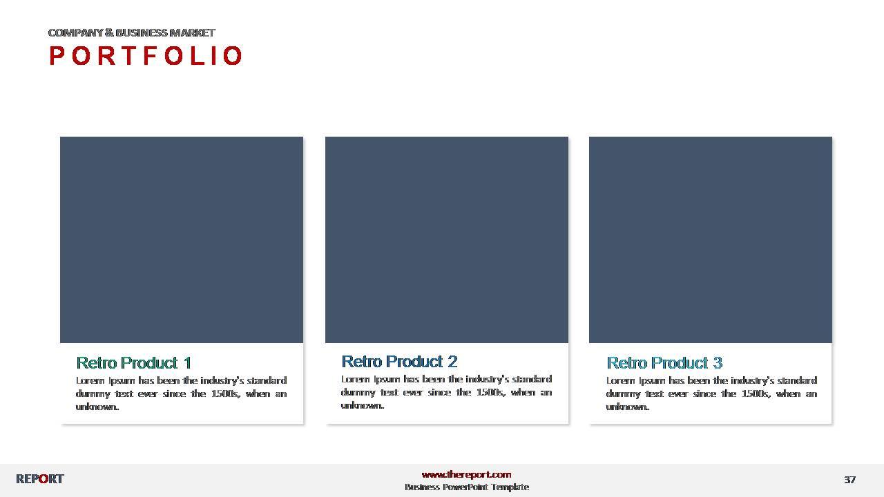Portfolio Presentation Templates