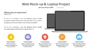 Web Mockup Templates