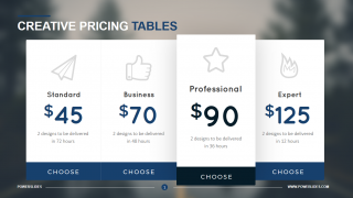 Pricing Proposal Template