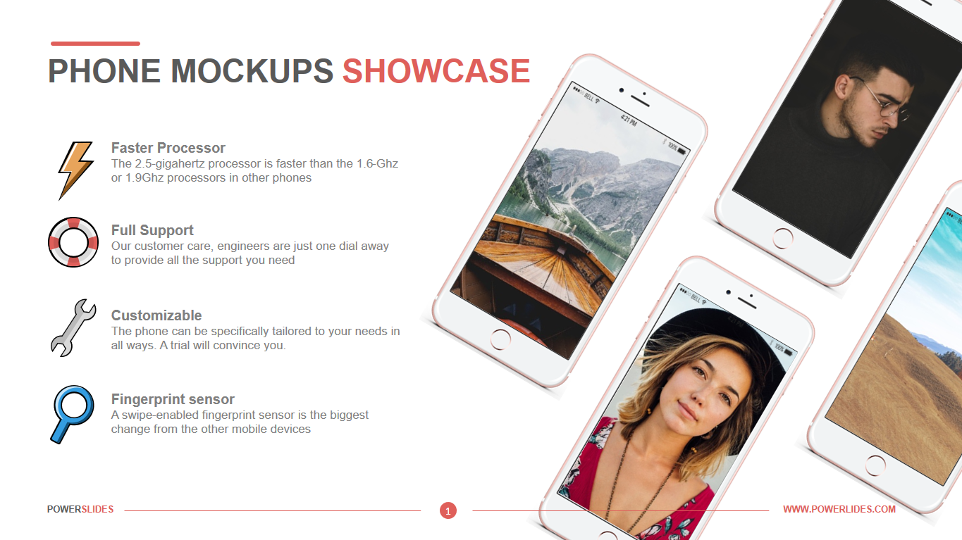 Phone Mockups Showcase