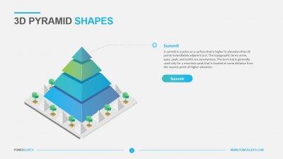 3D Pyramid Shapes
