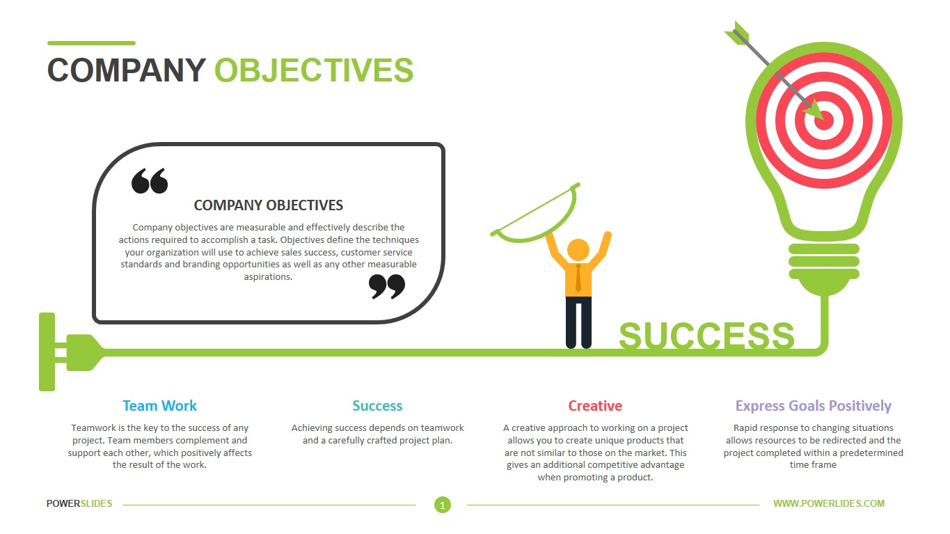 Company Objectives