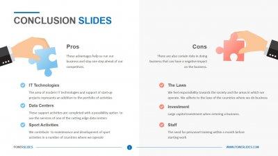 Conclusion Slides
