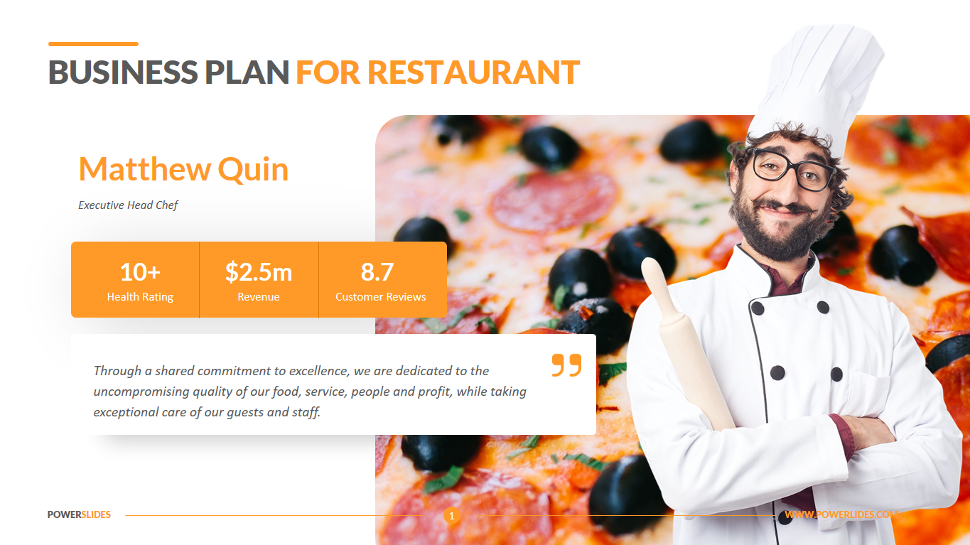 Restaurant Business Plan