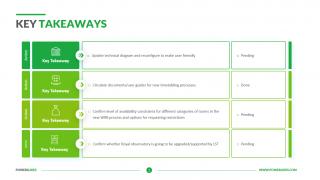 Key Takeaways Slide