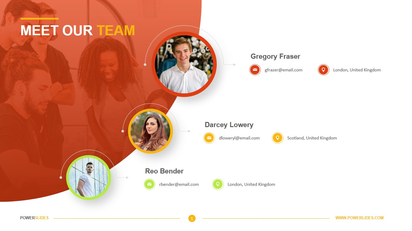 Meet Our Team Template