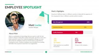 Employee Spotlight Template