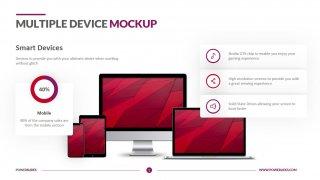 Multiple Device Mockup Template