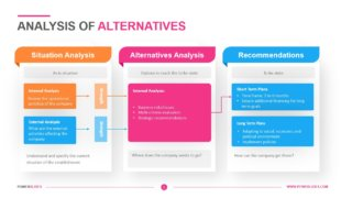Analysis of Alternatives